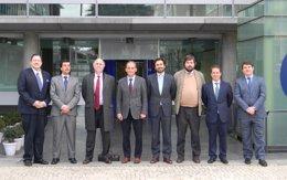 Foto: Loyola Andalucía e Indra firman un acuerdo para impulsar la I+D+i (EUROPA PRESS/UNIVERSIDAD LOYOLA ANDALUCÍA)