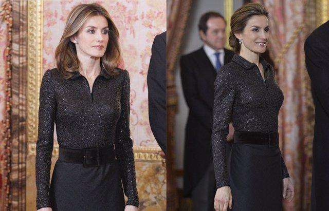Foto: La Reina Letizia repite: mismo acto y mismo look (GETTY/ EUROPA PRESS)