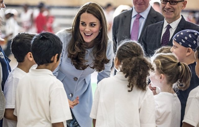Foto: Kate Middleton no tendrá más hijos (RICHARD POHLE/THE TIMES)