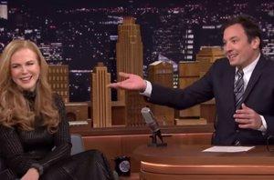 "Foto: Nicole Kidman en directo a Jimmy Fallon: ""¡Me gustabas!"" (THE TONIGHT SHOW JIMMY FALLON)"