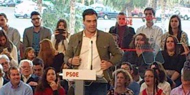 """Foto: Pedro Sánchez afirma que hay que recuperar la """"decencia política"""" (EUROPA PRESS)"""