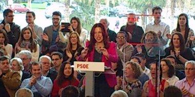 """Foto: Patricia Hernández asegura que el PSOE está """"listo"""" para cambiar Canarias (EUROPA PRESS)"""
