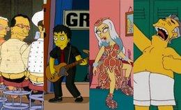 Foto: Los Simpson: 20 estrellas de la música que visitaron Springfield (MONTAJE EP)
