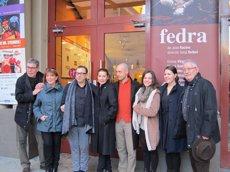 Foto: Sergi Belbel dirigeix Emma Vilarasau i Mercè Sampietro en el clàssic 'Fedra' al Romea (EUROPA PRESS)