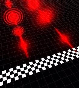 Foto: Reducen la velocidad de la luz viajando por el espacio libre (UNIVERSIDAD DE GLASGOW)