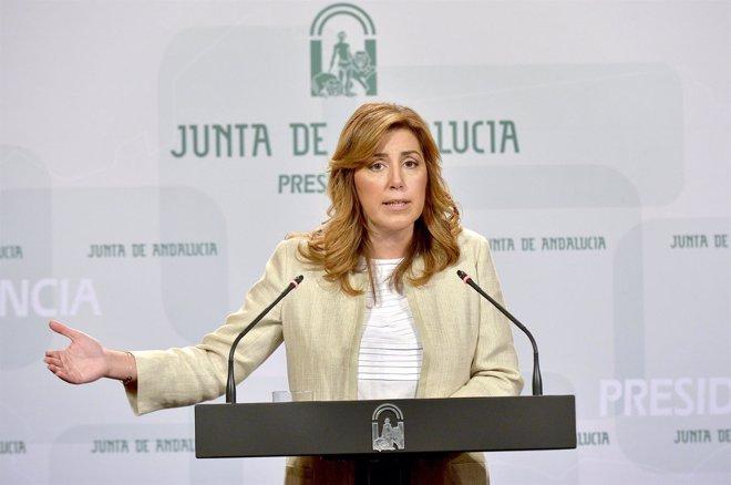 Foto: Susana Díaz adelanta las elecciones autonómicas al 22 de marzo (EUROPA PRESS/JUNTA DE ANDALUCÍA)