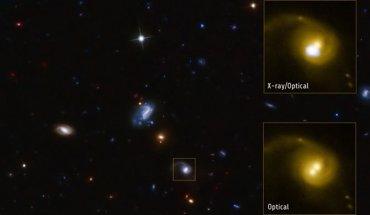 Foto: Un firme candidato al buscado agujero negro en retroceso ( NASA/CXC/SAO/F.CIVANO ET AL;)