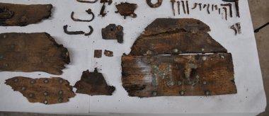 Foto: Los investigadores de Cervantes aún no pueden confirmar si el nicho con la inscripción M.C corresponde al escritor (AYUNTAMIENTO DE MADRID)
