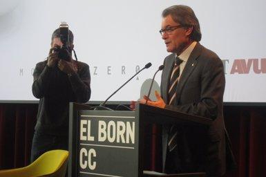 """Foto: Mas situa el sobiranisme com a """"principal motor de regeneració política"""" a Catalunya (EUROPA PRESS)"""