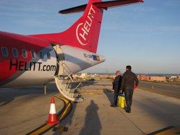 Foto: Bono viaje de 30 euros ida y vuelta en avión con Málaga (EUROPA PRESS/HELITT)
