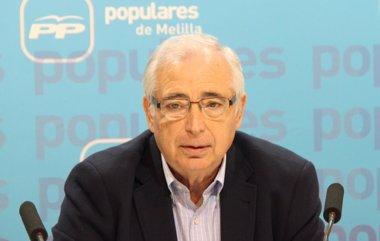 """Foto: Imbroda: Ceuta y Melilla """"no son la cuna del yihadismo"""" en España (EUROPA PRESS/PP DE MELILLA)"""