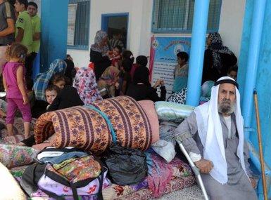 Foto: UNRWA suspèn les seves tasques de reconstrucció i assistència a Gaza a falta de finançament (UNRWA.ORG/EP)