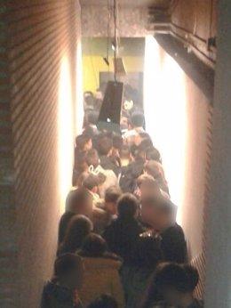 Foto: Desalojada dos días seguidos un nave que acogía fiestas ilegales (POLICÍA MUNICIPAL DE MADRID)