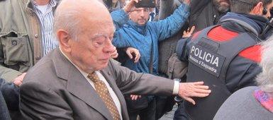 Foto: Jordi Pujol cita davant de la jutge un manuscrit del seu pare sobre el seu llegat sense aportar-lo (EUROPA PRESS)