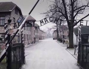 Auschwitz a vista de drone