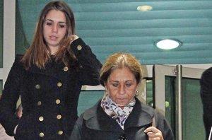 Foto: Tristeza y desolación en el  último adiós a Amparo Baró (EUROPA PRESS)