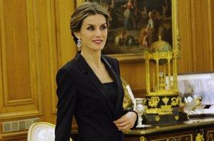 Foto: Letizia, una Reina de esmoquin (IVAN DEL MONTE)