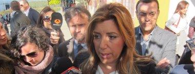 Foto: Susana Díaz no acudirà a la Convenció del PSOE a València per grip (EUROPA PRESS)