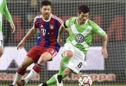 Foto: El Wolfsburgo golea al Bayern y reanima la Bundesliga (REUTERS)