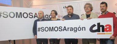 """Foto: CHA apuesta por un cambio político desde """"el aragonesismo"""" (EUROPA PRESS)"""