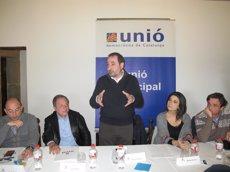 """Foto: Espadaler critica la """"grandiloqüència"""" de Rajoy i avisa del risc de les promeses de Podem (UDC)"""
