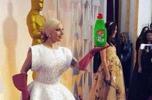 Foto: Lady Gaga y sus mejores memes: la 'chacha' oficial de los Oscar 2015 (TWITTER )