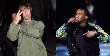 """Foto: Liam Gallagher llama """"absoluta mierda"""" a Kanye West (GETTY)"""