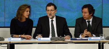 """Foto: El PP fija el guión de campaña para sus cargos: """"La recuperación es innegable y no dejaremos a nadie atrás"""" (EUROPA PRESS)"""