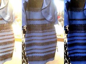 El vestido que cambia de color