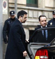 """Foto: La Fiscalia demana processar Bartomeu per la seva """"indubtable"""" participació en un frau fiscal (EUROPA PRESS)"""