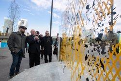 Foto: Fira.- Una instal·lació artística de Fernando M. Romero donarà la benvinguda als visitants del MWC (EUROPA PRESS)