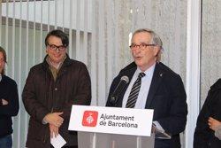 Foto: Trias inaugura el Local Solidari del barri del Clot-Camp de l'Arpa (EUROPA PRESS)