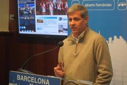 Foto: Alberto Fernández (PP) diu que el Govern deu 8,7 milions a guarderies de Barcelona (EUROPA PRESS)