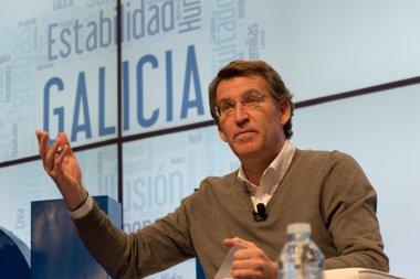 "Foto: Feijóo critica la ""inestabilidad"" de PSOE, IU o Podemos (EUROPA PRESS/David Cabezón @ PPdeG)"