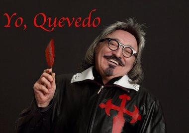 Foto: Moncho Borrajo trae a Santander su espectáculo 'Yo, Quevedo' los próximos 6 y 7 de marzo (MONCHO BORRAJO)