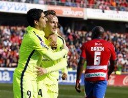 Foto: Crònica del Granada - FC Barcelona, 1-3 (MARCELO DEL POZO / REUTERS)