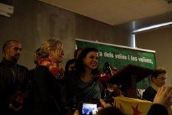 Foto: Maria José Lecha i Maria Rovira lideren la candidatura de CUP-Capgirem Barcelona (CUP-CAPGIREM BARCELONA)