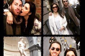 Foto: Sergio Ramos y Pilar Rubio, escapada romántica a Florencia (INSTAGRAM/SERGIO RAMOS )