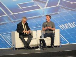 Foto: MWC.-Zuckerberg (Facebook) torna al Mobile World Congress de Barcelona (EUROPA PRESS)