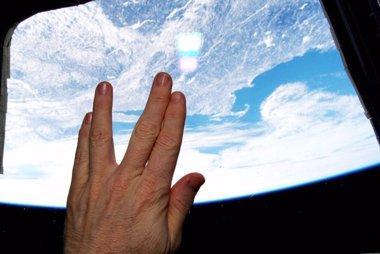 Foto: La NASA homenajea a Leonard Nimoy desde la Estación Internacional Espacial (TWITTER)