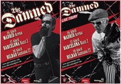 Foto: The Damned actuaran l'abril a Madrid, Barcelona i Bilbao l'abril (THE DAMNED)