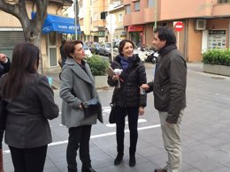 Foto: Durán continúa su agenda de visitas a barrios para recoger propuestas (PP)