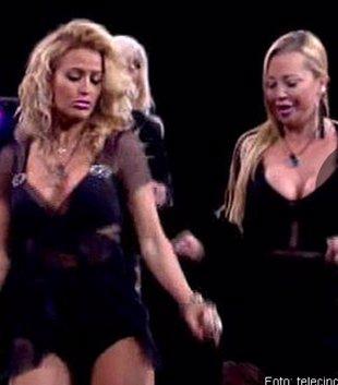 Foto: Chari, Ylenia y Belén Estaban, el baile más sexy de Gran Hermano VIP (TELECINCO)