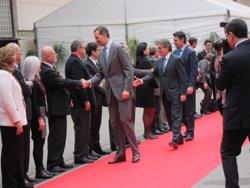 Foto: MWC.- El Rei inaugura el X Mobile World Congress al costat d'Artur Mas (EUROPA PRESS)