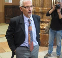Foto: El jutge Santiago Vidal encara no ha pres cap decisió sobre el seu futur polític (EUROPA PRESS)