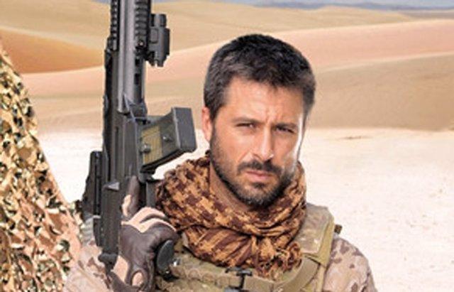 Foto: Hugo Silva resalta el lado humano que hay detrás de los uniformes militares (TELECINCO)