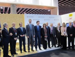 Foto: Felip VI i la reina d'Holanda es troben al Mobile World Congress (EUROPA PRESS)