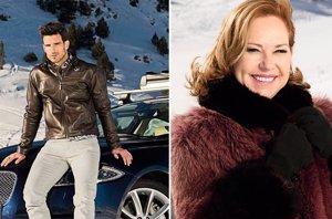 Foto: Ana Rodríguez y Aitor Ocio viajan a Andorra para probar los Jaguar AWD (EUROPA PRESS)