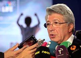 """Foto: Cerezo: """"La Liga está interesante"""" (ANGEL GUTIERREZ)"""