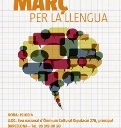 Foto: Òmnium Cultural debat sobre l'estat del català en un cicle (ÒMNIUM CULTURAL)